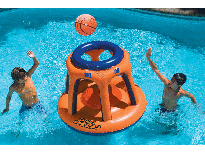 Giant Shootball by Swimline 90285 inflatable basketball type game